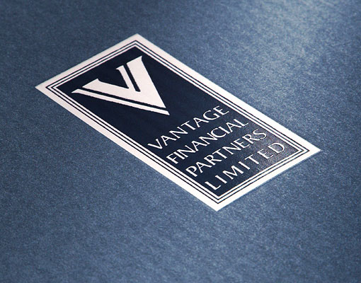 Vantage Financial Partners Limited capabilities brochure logo detail